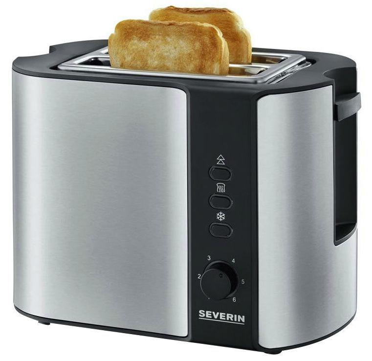 Severin AT 2589 Automatik Toaster mit 800 Watt aus Edelstahl für 23,12€inkl. Versand (statt 29€)