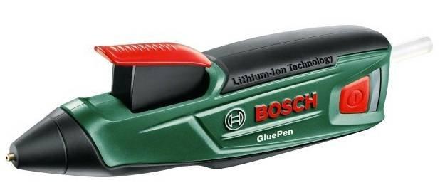 Bosch Akku Heißklebepistole GluePen + 4 Klebesticks für 21,41€ (statt 28€)