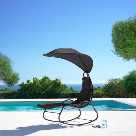 Relaxsessel Cori mit Auflage, Kissen & Dach für 69,30€ inkl. Versand