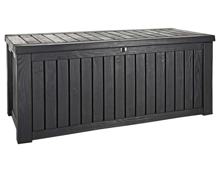 Keter Rockwood Kissenbox (570 Liter, wasserdicht, witterungsbeständig) für 99€ bei Fillialabholung