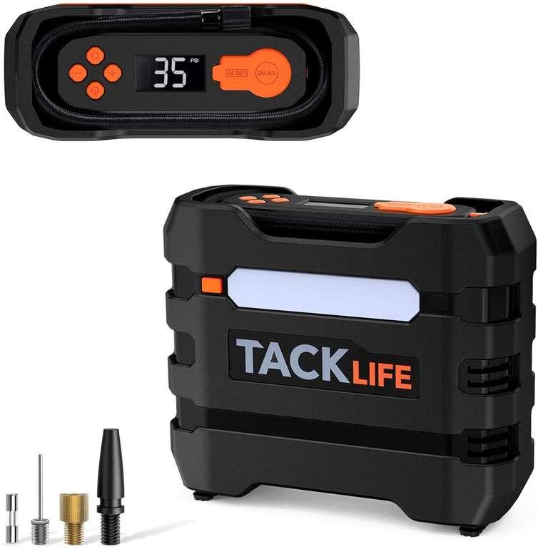 Tacklife ACP1B Auto Luftkompressor inkl. Adapter & zusätzlicher Sicherung für 15,87€ inkl. Versand (statt 34€)