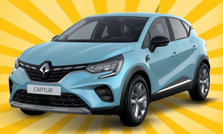 Leasing Knaller im Autohaus König - z.B. Gewerbe Leasing: Renault Captur mit 130 PS für 79€ mtl. (LF: 0,45)