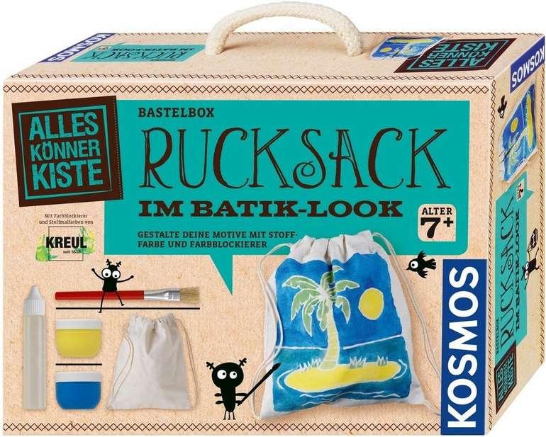 Kosmos Bastelbox Rucksack im Batik-Look für 5,99€ inkl. Versand (statt 12€)