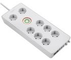 Sygonix 8-fach Steckdosenleiste mit Überspannungsschutz für 10,74€ inkl. Versand