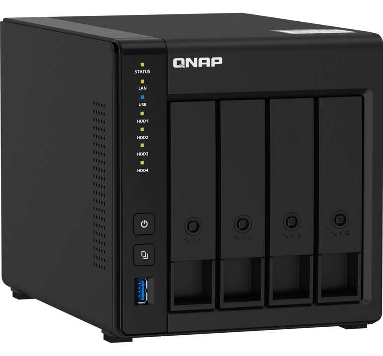 QNAP TS-451D2-2G NAS in schwarz für 366,25€ inkl. Versand (statt 406€)