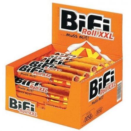 BiFi Roll XXL - Salami Snack im Teigmantel (24 x 75g) für 25,94€ inkl. VSK