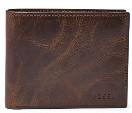 Fossil: 30% auf Herrentaschen und Geldbörsen + 15€ NL-Rabatt, z.B. Derrick 34€