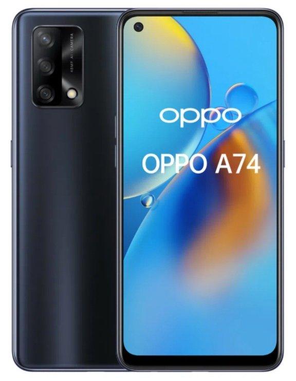 Oppo A74 mit 128GB Speicher (49€) + o2 Allnet- und SMS-Flat mit 6GB LTE für 9,99€ mtl.