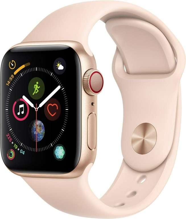 Apple Watch Series 4 LTE 40mm mit Sportarmband für 179,91€ inkl. Versand (statt 215€) - B-Ware!