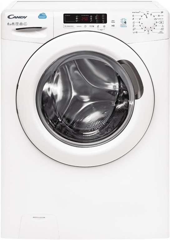 Candy CS34 1262D3-S 6kg Waschmaschine mit A+++ & App-Anbindung für 214,90€ (statt 289€)