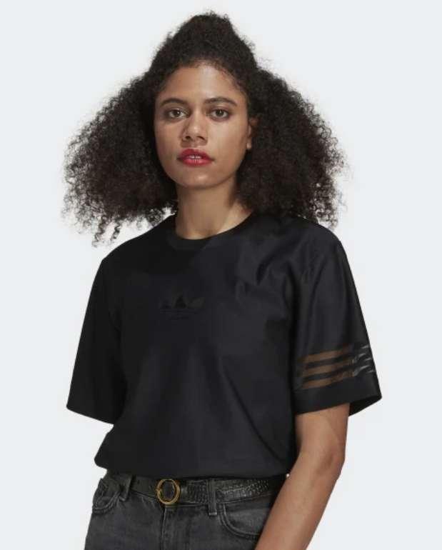 Adidas Originals Damen T-Shirt in Schwarz für 19,60€ (statt 23€) - Creators Club!