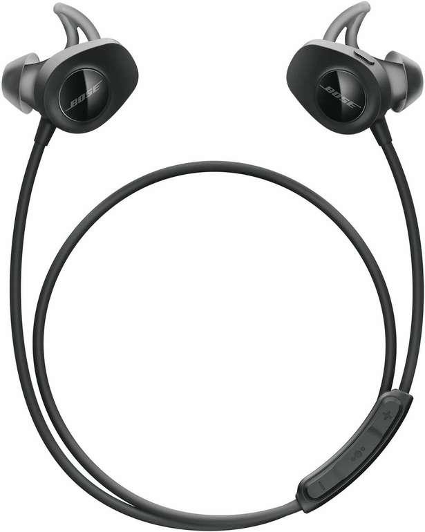 Bose SoundSport Wireless In-Ears (Bluetooth, NFC, 6h Akkulaufzeit, Mikrofon, Kabelfernbedienung) für 89,95€