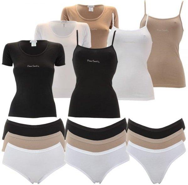 4er Pack Pierre Cardin Damen Unterhemden oder 6er Pack Damen Slips für 14,99€