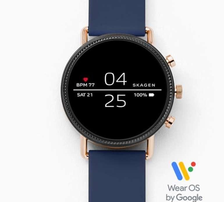 """Skagen Falster 2 Connected Smartwatch """"SKT5110"""" für 79€ inkl. Versand (statt 169€)"""