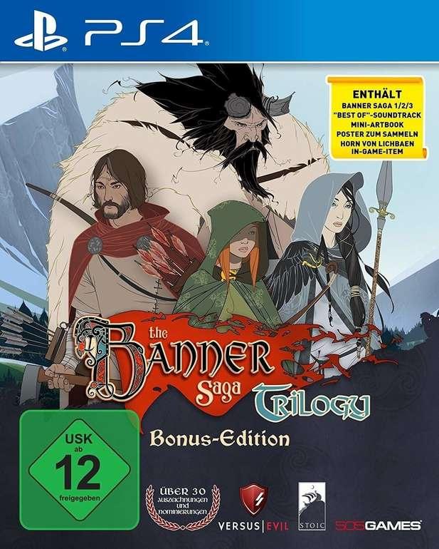 The Banner Saga Trilogy für PS4 oder XBox One für 16,65€ inkl. Versand (statt 24€)