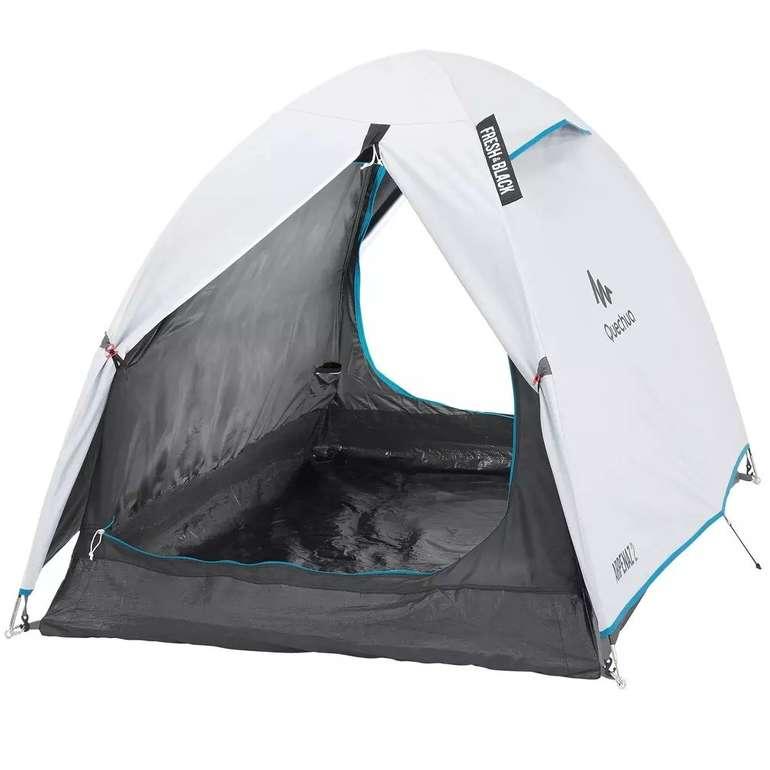 Quechua 2 Personen Campingzelt Arpenaz 2 Fresh & Black für 38,98€ inkl. Versand (statt 48€)