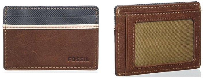 "Fossil Mini Geldbörse ""Elgin brown"" für 18€ inkl. VSK (statt 25€)"
