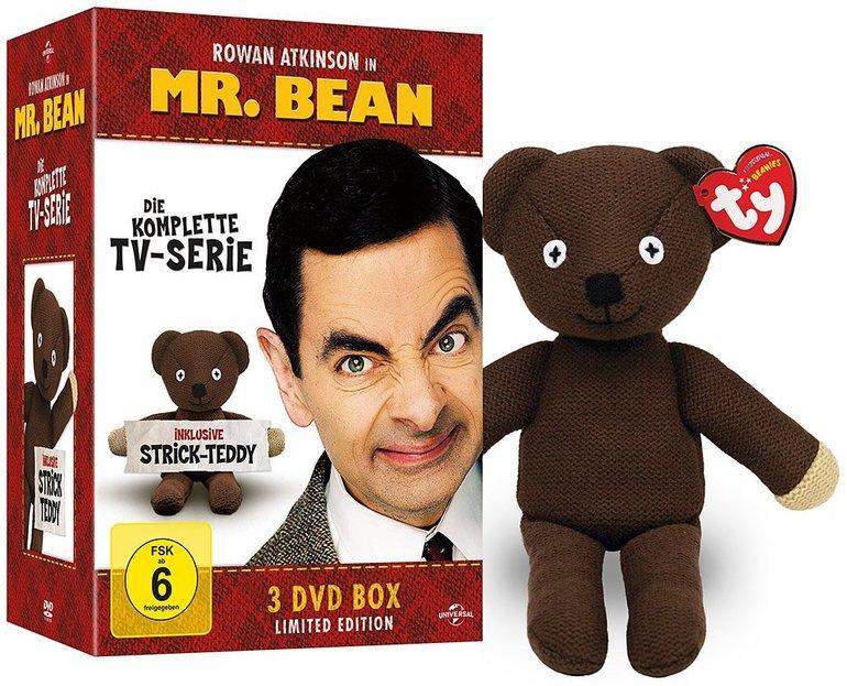 Mr. Bean - Die komplette TV-Serie + Strick-Teddy (DVD) für 11,98€ inkl. Versand