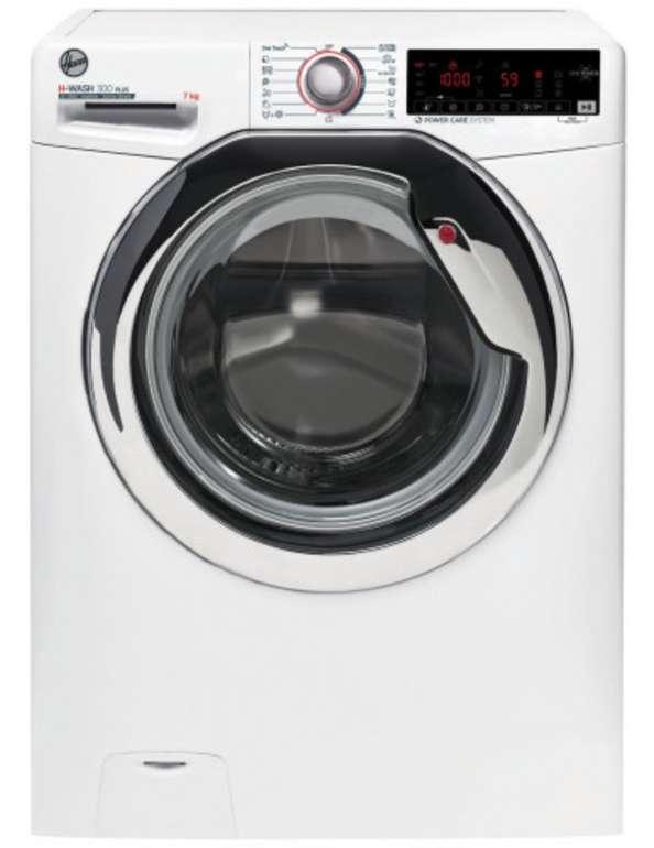Hoover H3WS437TAMCE/1-S - 7 kg Waschvollautomat (1300 U/Min., NFC, EEK: A+++) für 298,99€ (statt 379€)