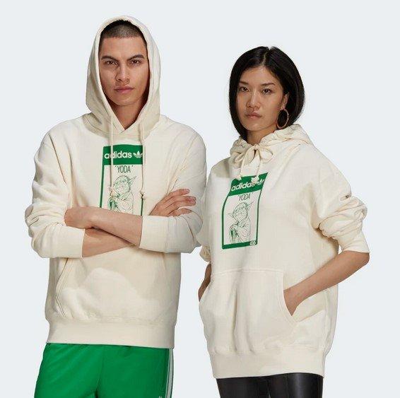 Adidas Originals Yoda Unisex Hoodie für 53,55€ inkl. Versand (statt 67€)