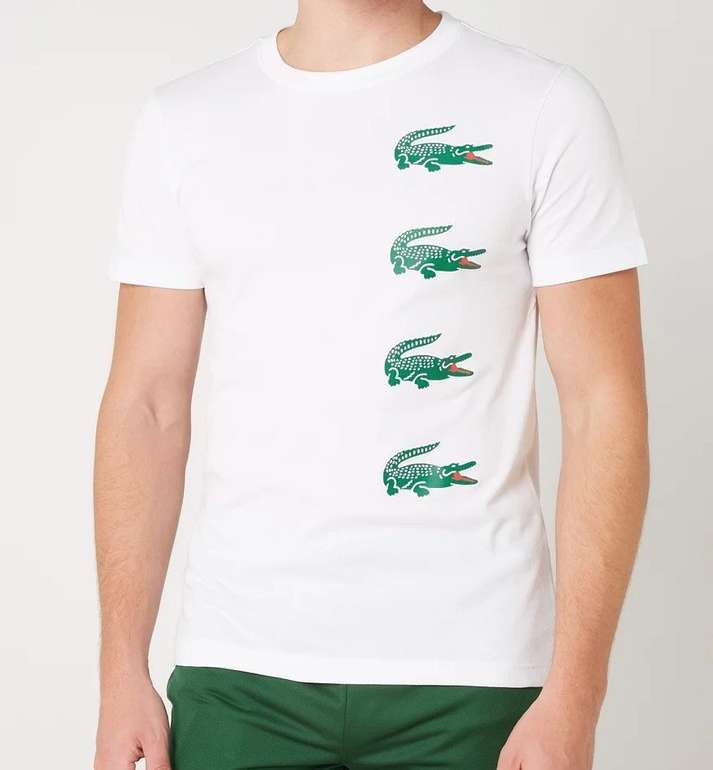Lacoste Herren T-Shirt mit Print für 31,99€ inkl. Versand (statt 44€)