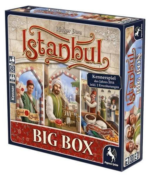 Istanbul Big Box Kennerspiel des Jahres 2014 für 23,99€ (statt 30€)
