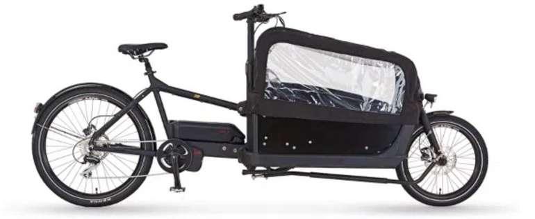 Prophete Cargo Plus 20.ETL.10 - 20″ E-Bike Lastenrad mit Kindertransport für 3.284€ (statt 3.665€)