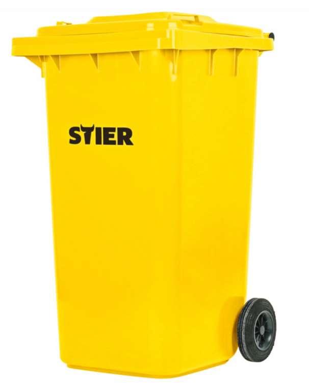 Stier 2-Rad-Müllgroßbehälter mit 240 Liter für 56,33€ inkl. Versand (statt 80€)