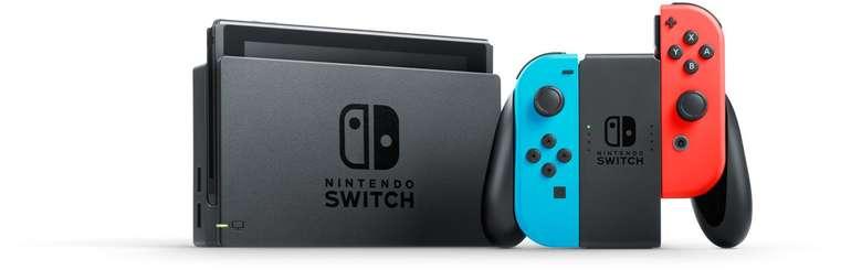 Nintendo Switch Konsole + 25€ Nintendo eShop Gutschein (4,99€) + crash Allnet Flat 7 GB LTE für 19,99€ mtl.