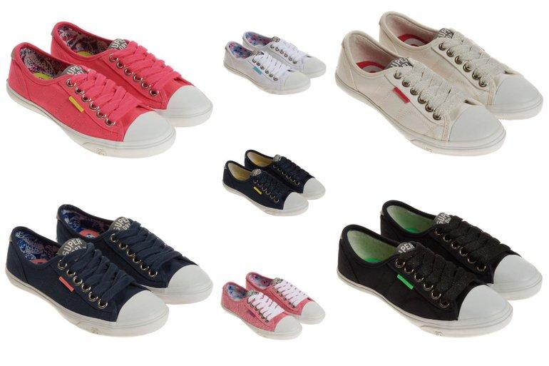 Superdry Damen Sneaker (nur Größe 36) für je 7,95€ inkl. Versand