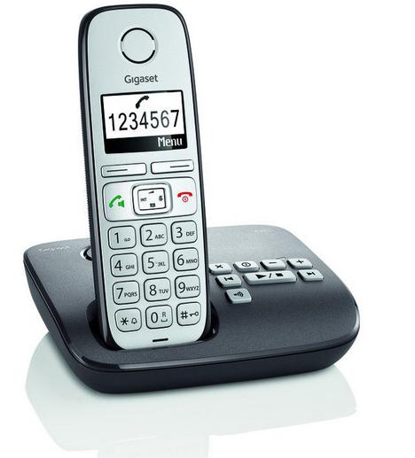 Gigaset E310A anthrazit mit AB für 35,99€ inkl. Versand (statt 50€)
