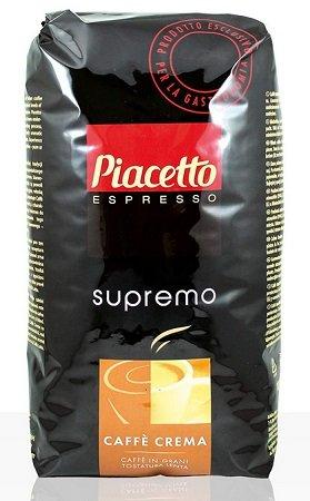 6 x 1kg Piacetto Supremo Caffè Crema Bohnen für 22,64€ inkl. VSK (statt 90€)
