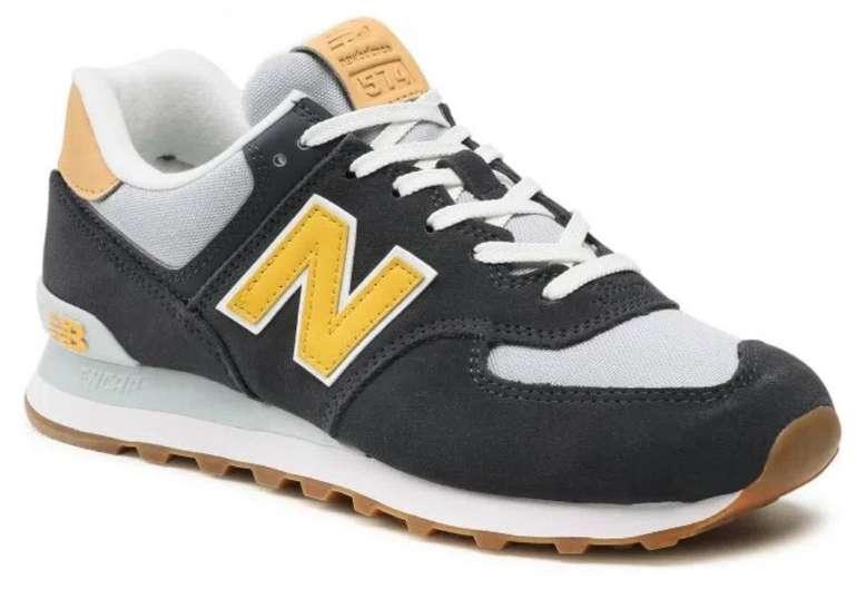 New Balance ML574NA2 Herren Sneaker in Dunkelblau/Gelb für 55€ inkl. Versand (statt 67€)