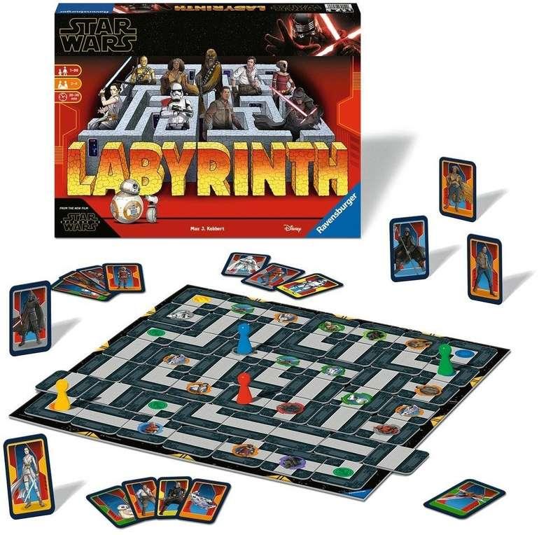 Ravensburger (26137) Star Wars IX Labyrinth Brettspiel für 19,99€ (statt 26€)