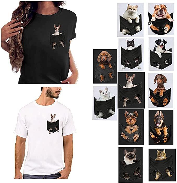 Ainiyo T-Shirts mit Print für je 4,89€ inkl. Versand (statt 16€)