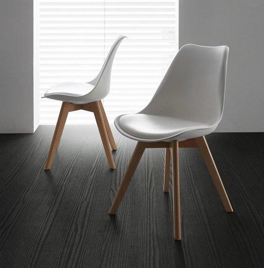 "Bessagi Home ""Judy"" Stuhl im Skandi-Stil für 24,78€ inkl. Versand (statt 46€)"
