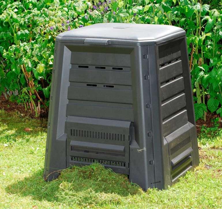 KHW Komposter mit  75x75x87 cm und 340 Liter für 38,94€ inkl. Versand (statt 58€)