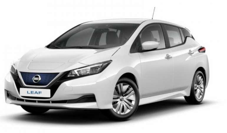 Gewerbeleasing: Nissan Leaf mit 150 PS für 36,97€ netto mtl. (BAFA, LF: 0.14, Überführung: 990€)