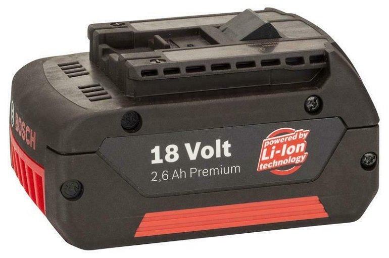 Bosch Li-Ion Ersatzakku 18Volt 2,6Ah für 14,99€ inkl. Versand (statt 30€)