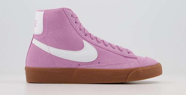 """Nike Blazer Mid 77 Trainers """"Suede Beyond"""" in Pink für 60€ inkl. Versand (statt 78€)"""