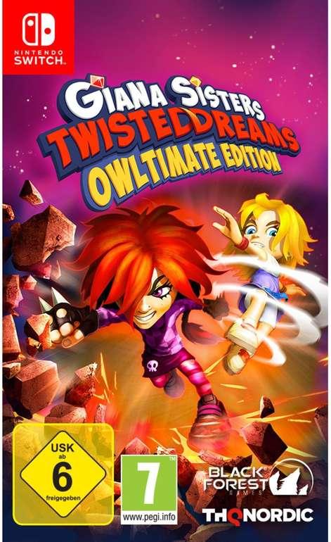 Giana Sisters: Twisted Dreams (Owltimate Edition) für Nintendo Switch für 14,99€ inkl. Versand (statt 19€)