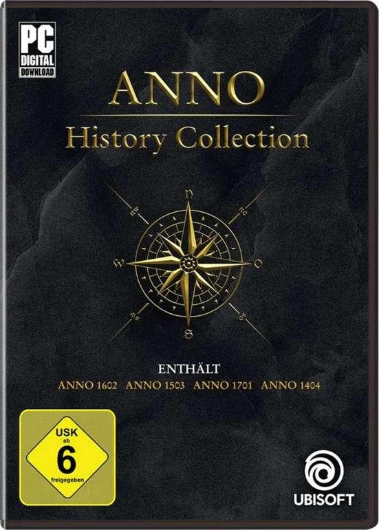 Anno History Collection (PC) für 15€ inkl. Versand (statt 25€) - Vorbestellung!
