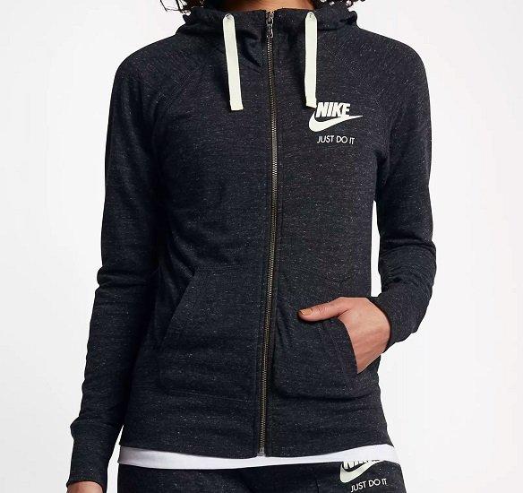 Nike Sportswear Gym Vintage Damen-Hoodie mit durchgehendem Reißverschluss für 36,38€ inkl. Versand (statt 49€)