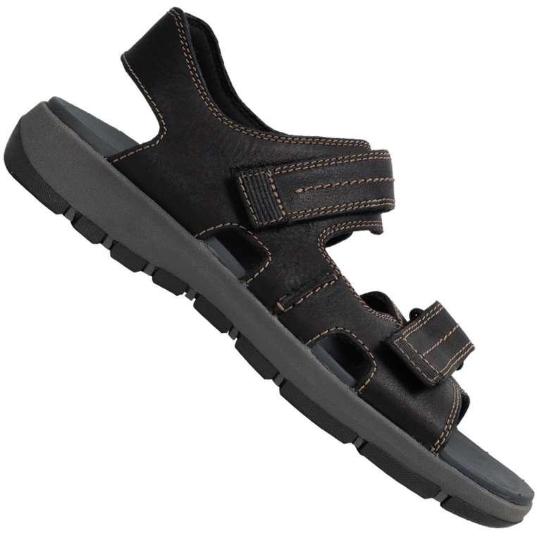 Clarks Brixby Shore Herren Leder Sandalen für 36,27€ inkl. Versand (statt 50€)