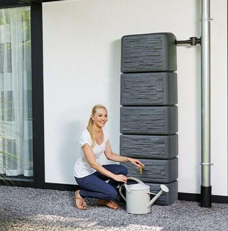 Bauhaus: 4rain Wandtank SLIM 300 Liter Volumen (mit Auslaufhahn und Windsicherung) für 99€ bei Abholung