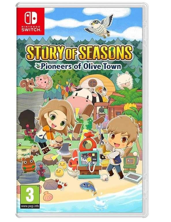 Story of Seasons: Pioneers of Olive Town (Nintendo Switch) für 29,97€ inkl. Versand (statt 44€)