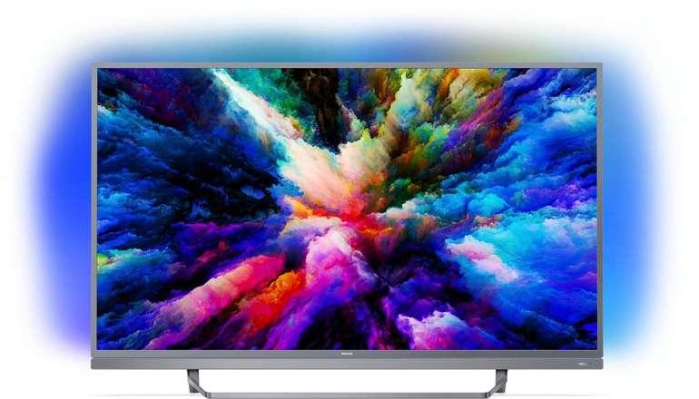 "Philips 55PUS7503 - 55"" Ultra-HD LED Smart-TV mit Ambilight für 549€ (statt 660€)"