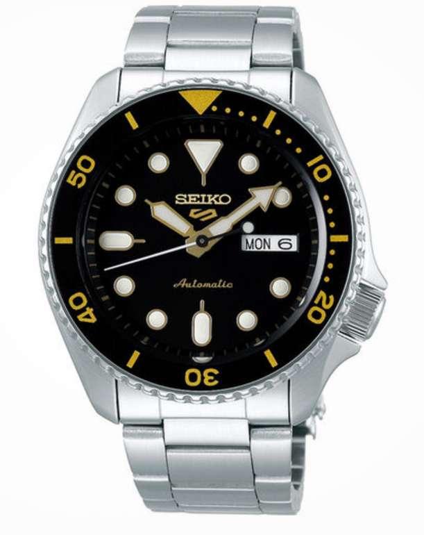 "Seiko Herrenuhr Sports Automatik Armbanduhr ""SRPD57K1"" für 160,75€ inkl. Versand (statt 208€) - Kundenkarte"