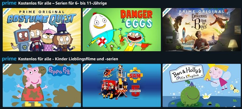 Amazon Kinderserien