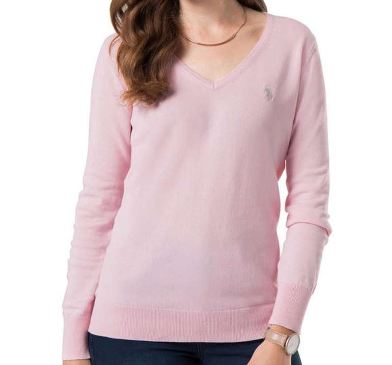 U.S. Polo Assn. Damen Baumwoll-Pullover (versch. Farben) für je 24,14€ inkl. Versand (statt 35€)